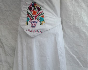 Mexican dress separate //Mexican embroidered dress