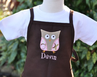 Personalized Toddler Apron - Personalized Apron for Kids - Monogrammed Apron - Kitchen Apron - Childrens Apron - Christmas Gift