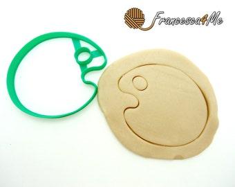 Paint Palette Cookie Cutter/Multi-Size