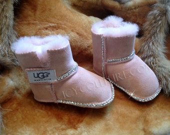 BLING BABY UGGS Boots with Swarovski Crystals