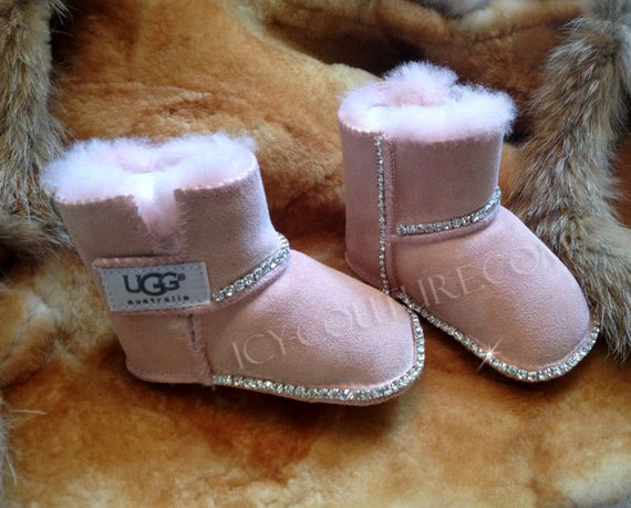 BLING BABY UGGS Boots With Swarovski Crystals - Free invoices online download official ugg outlet online store