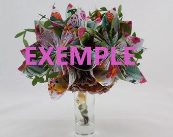 Origami Soligami bouquet