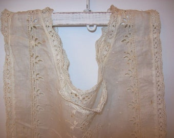 Antique Victorian Edwardian 1900 Bodice Type Dress Remnant