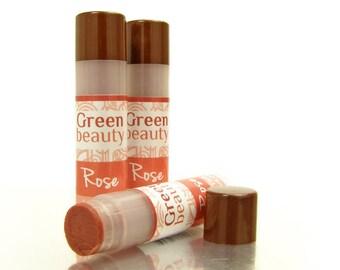Lip Tint, Rose, sheer lip tint, natural lip balm, lip color, lip tint, lip balm, colored lip balm, beeswax lip balm, moisturizing YLBB