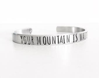 Your Mountain Is Waiting, Mountain Jewelry, Mountain Girl, Mountain Love, Inspirational