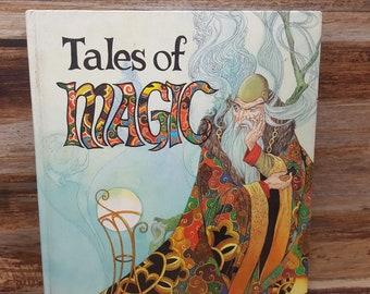 Tales of Magic, 1990, READ DESCRIPIONS,  vintage kids book