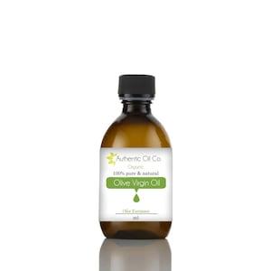 Olive Virgin Organic  oil 100% Pure Various sizes  10ml 50ml 100ml 250ml 500ml 1 litre
