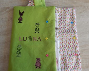 Personalized colorful nomadic designs pouch