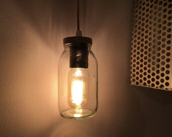 Industrial lamp glass