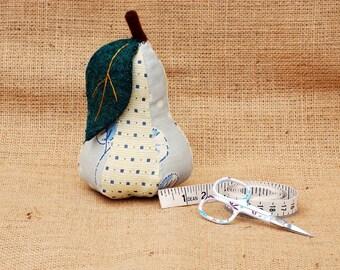 Pincushion - Pear (Design 2)