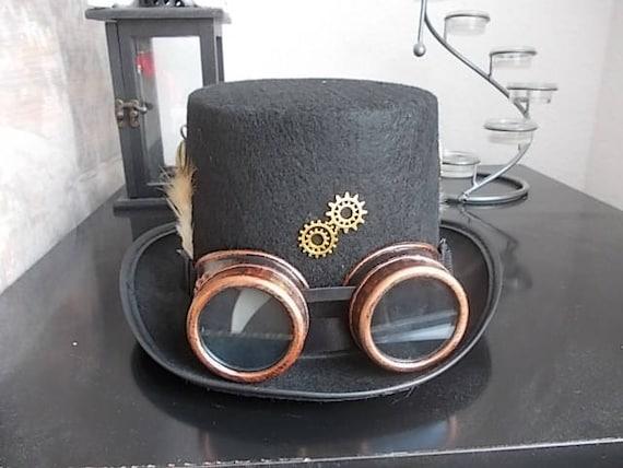 Steunk Deko steunk hut hat steunk goggles steunk deko
