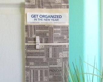 SALE Doorknob Hanging Organizer