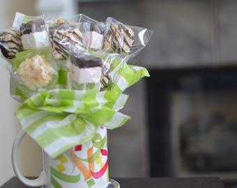Marshmallow Bouquet in Eid Mug