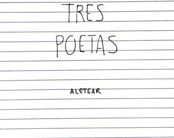 Tres poetas, fanzine digital (Aletear) PDF