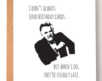 Funny belated birthday card studies show belated cards birthday card belated birthday card funny card funny belated card dos equis bookmarktalkfo Choice Image