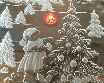 Original German Walther Glas Star Plate BonBon Tray, Bon Bon Dish,  Vintage Bon Bon, Christmas Dish, Candy Dish, Serving Dish, Christmas,