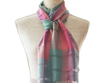 Pastel Rayon Summer Scarf