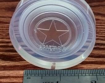 Captain America shield silicone mold
