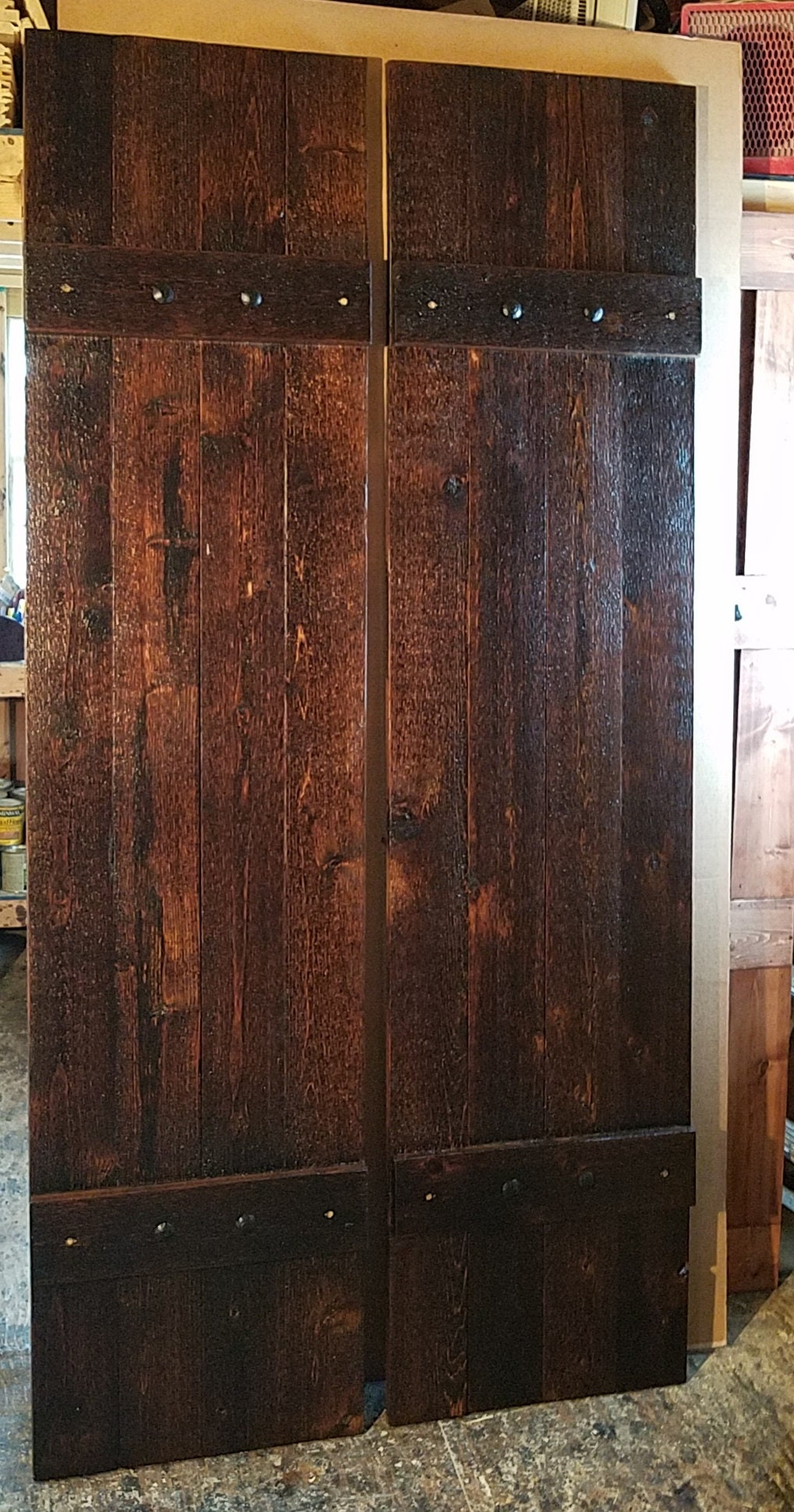 Rustic Cedar Shutters Window Shutters Primitive