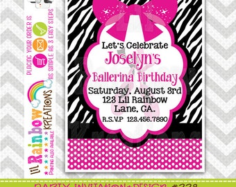 228: DIY - Diva 4 Party Invitation Or Thank You Card