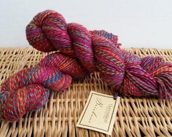 Worsted Wool, Superwash Yarn, Brisbane by Queensland Collection 10 Red Firegoby