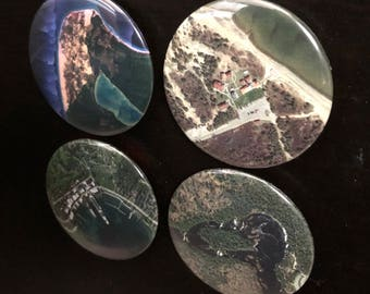Up North Michigan Magnets (Set of 4)