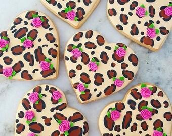 Cheetah Cookies