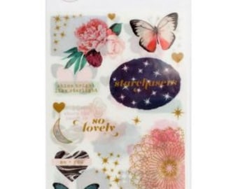 Moonstruck by Pink Paislee Rub-ons, Journaling, Scrapbooking