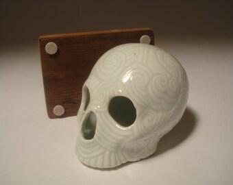 Celadon Circus Skull