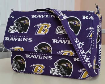 Ravens Sport Bag (made in USA by the Chesapeake Bay)