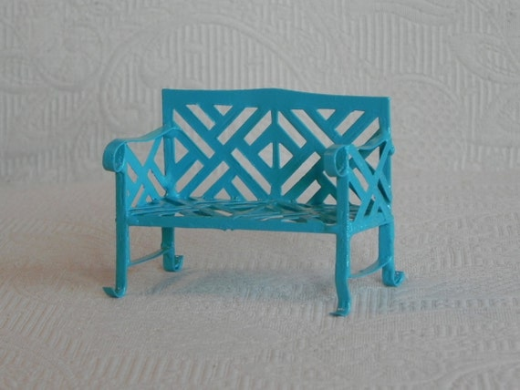 Fairy Garden Bench Miniature Furniture Bright Robinu0027s Egg