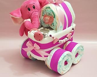 Mako batist babybettwäsche maxi rosa lorenchen