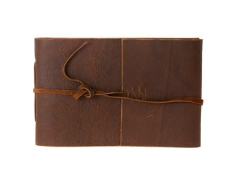 Handmade Buffalo Leather Photo Album