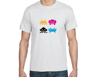 Space Invaders - Funny T-shirt