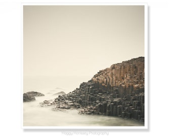 Ireland Photography, Irish Art, Coastal Wall Art, The Giants Causeway, Made In Ireland, Northern Ireland Photography, Gifts for Geologists