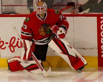 Scott Darling, Chicago Blackhawks, Hockey Decor, Photography