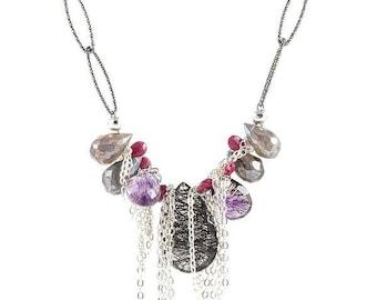 Kyoto Gemstone Chain Necklace