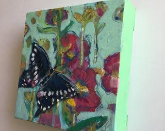 Butterfly Original Painting, Original Art