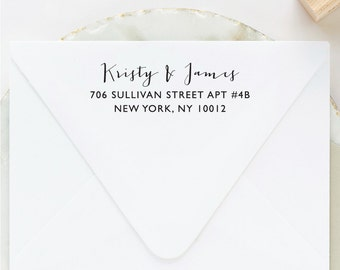 Custom Address Stamp, Return Address Stamp, Self Inking Address Stamp, Address Stamp Self Ink, Wedding Stamp, Address Label, Engagement Gift