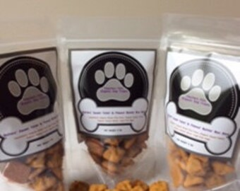 Organic Dog Treats - Butters Sweet Tater & Peanut Butter Bon Bons ( Free Shipping)