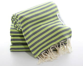 Mediterranean   Travel Towel   Beach Towel   Bridesmaid Gift   Sarong   Peshtemal   Turkish Towel   Beach Blanket   Quick Dry   Mon Castle
