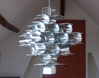Pendant Max Sauze Cassiopeia - Vintage chandelier.