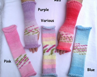 Soft Chunky Fingerless Wrist Warmers/ Gloves
