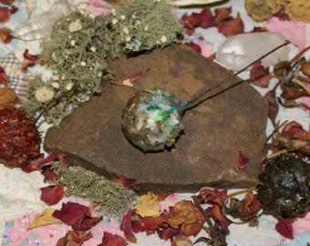 Loaded Witch's Burr Amulets: Protection, Abundance, Romance