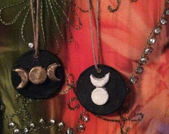 Goddess & Horned God Ornaments