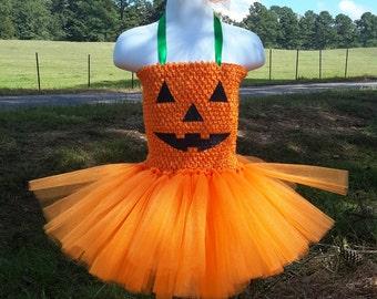 Girls Halloween Costume, Pumpkin Costume, Halloween Oufits, baby girl costume, First halloween costume
