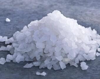 White Himalayan Salt Coarse, Himalayan Sea Salt, Pink Sea Salt, Rock Salt, Halite, Cleaning and Clearing Crystals, Crystal Purifier