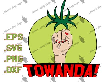 Towanda, fried green tomatoes, movie decal,
