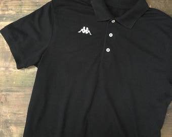 Black Kappa Polo Shirt