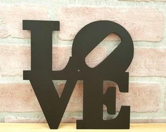 Philadelphia LOVE Park Trivet - Mother's Day Gift - Decorative trivet - Housewarming gift - Wedding gift -  Love décor - Love hot plate